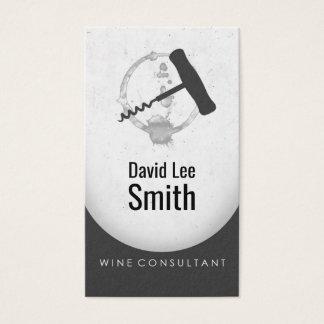 Cartes De Visite Consultant en matière de vin