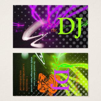Cartes De Visite Cool/lampes au néon élégantes/couleurs