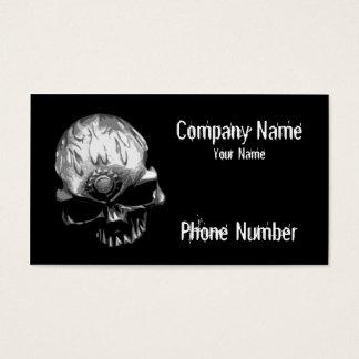 Cartes De Visite Crâne principal de vitesse