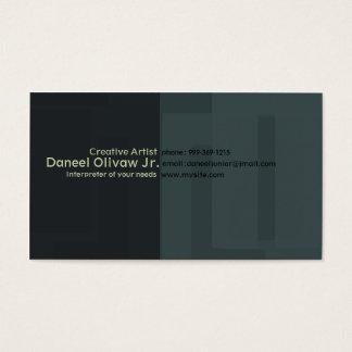 Cartes De Visite Créatif/artiste II