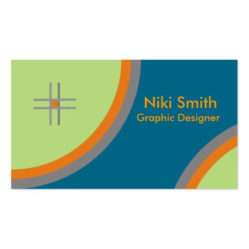 Cartes de visite créatifs carte de visite standard