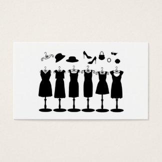 Cartes De Visite Créez vos propres robes et accessoires de mode