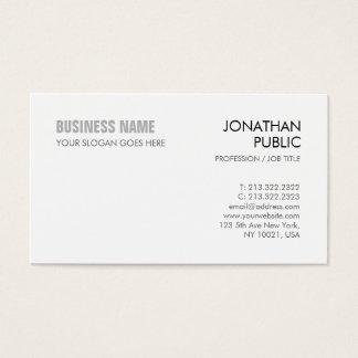 Cartes De Visite Créez votre propre d'entreprise élégant de