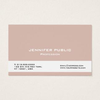 Cartes De Visite Créez votre propre élégant professionnel moderne