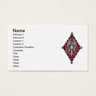 Cartes De Visite Crête de couleur de PBP