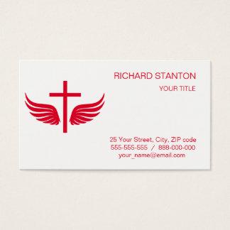Cartes De Visite Croix chrétienne