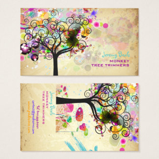 Cartes De Visite Cru de PixDezines/♥♥♥ grunge rose de trimmers