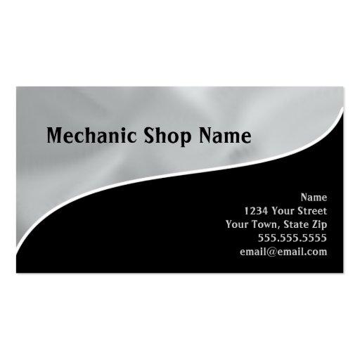 Cartes de visite CUSTOMISÉS par magasin de mécanic Cartes De Visite Professionnelles