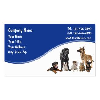 Cartes de visite d'animal familier carte de visite