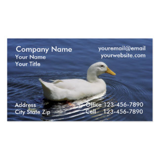 Cartes de visite d'animaux cartes de visite personnelles