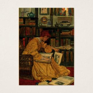 Cartes De Visite Dans la bibliothèque