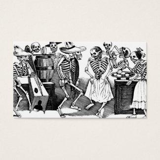 """Cartes De Visite """"Dansant le Jarabe dans l'autre monde """""""