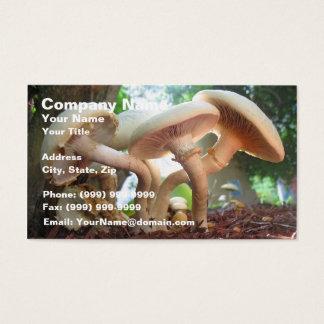 Cartes De Visite Danse de champignons