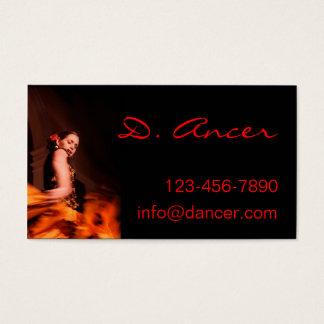Cartes De Visite danseur de flamenco