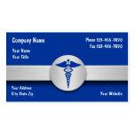 Cartes de visite d'assurance-maladie modèles de cartes de visite