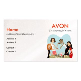 Cartes de visite d'Avon - perle Modèle De Carte De Visite