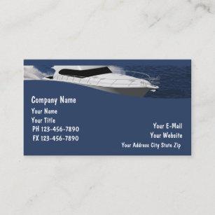 Cartes De Visite Bateau