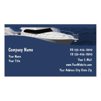 Cartes de visite de bateau cartes de visite personnelles