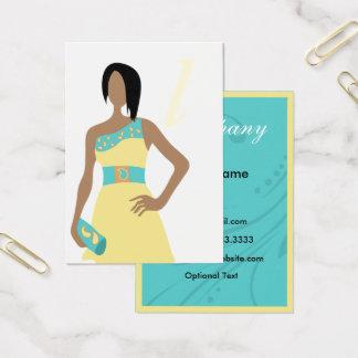 Cartes de visite de boutique de mode