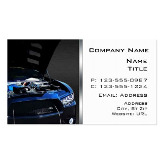 Cartes de visite de chargeur de Dodge Modèle De Carte De Visite