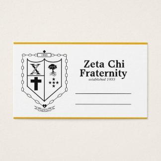 Cartes de visite de Chi de Zeta