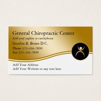 Cartes de visite de chiroprakteur