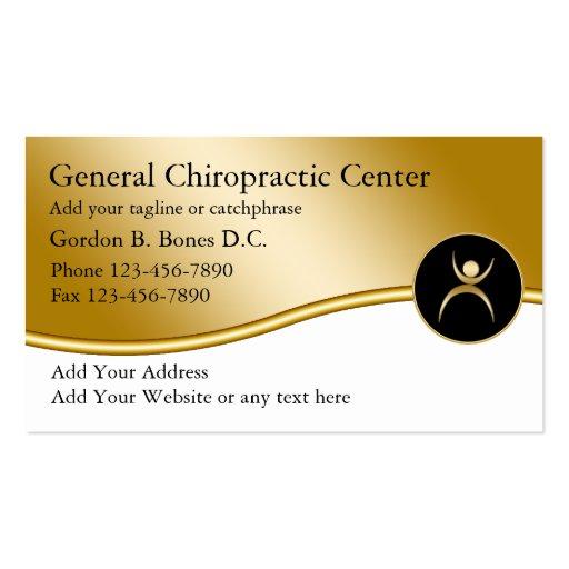Cartes de visite de chiroprakteur carte de visite