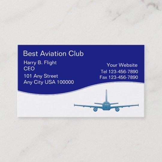 Cartes De Visite Club Daviation