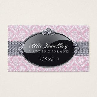 Cartes de visite de concepteur de bijoux