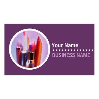 Cartes de visite de Cosmetologist Modèle De Carte De Visite