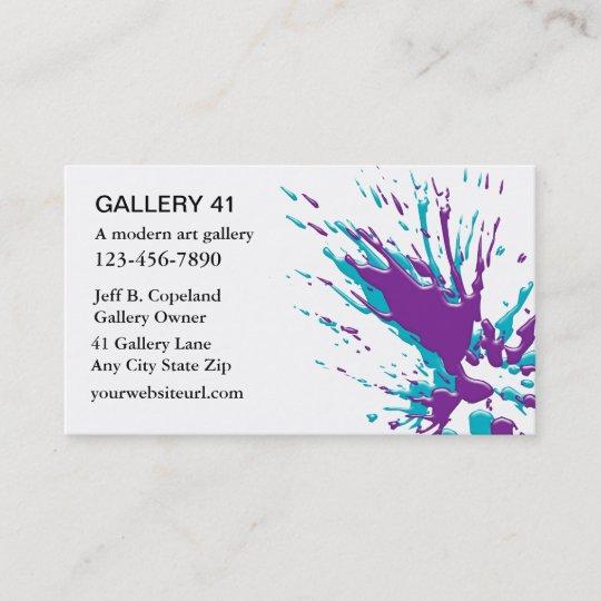 Cartes De Visite Galerie Dart