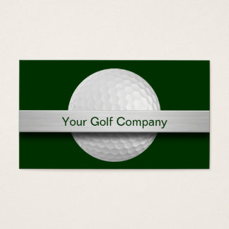 Cartes de visite de golf