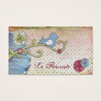 Cartes de visite de Le Fleuriste
