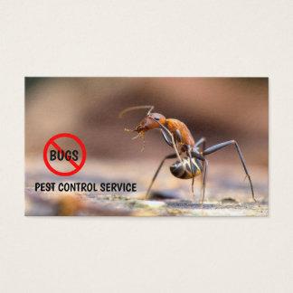 Cartes De Visite © de lutte contre les parasites d'exterminateur