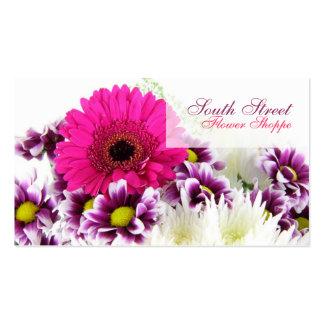 Cartes de visite de magasin de fleur carte de visite standard