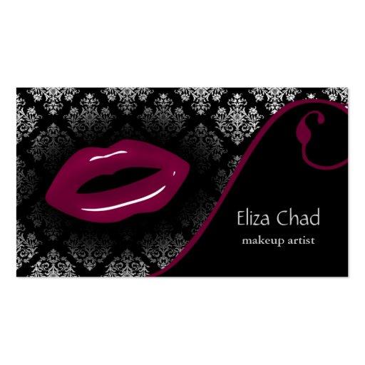 cartes de visite de maquilleur de roses indien cartes de visite personnelles