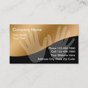 Cartes De Visite Massage