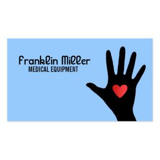 Cartes de visite de matériel médical carte de visite standard