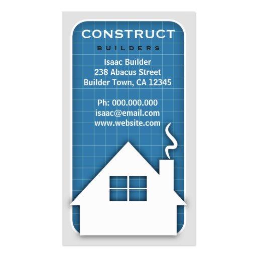 cartes de visite de mod le de b timent et de carte de visite standard zazzle. Black Bedroom Furniture Sets. Home Design Ideas