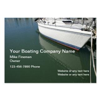 Cartes de visite de nettoyage de bateau carte de visite