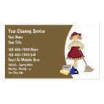 Cartes de visite de nettoyage de Chambre Carte De Visite