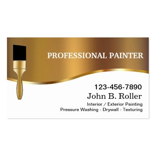 Cartes de visite de peintre cartes de visite personnelles