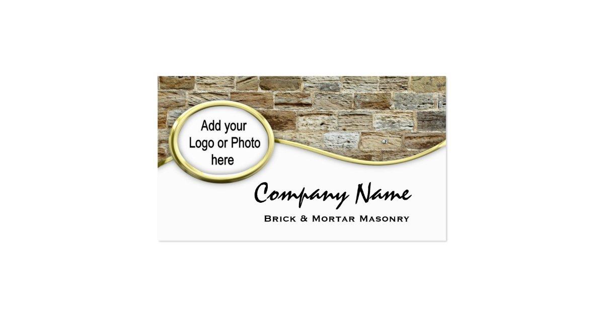 cartes de visite de photo de logo de ma onnerie de carte. Black Bedroom Furniture Sets. Home Design Ideas