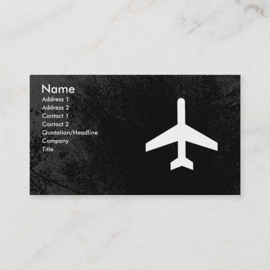 Cartes De Visite Pilote Davion Ou Steward