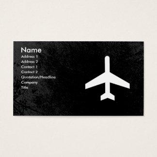 Cartes de visite de pilote d'avion ou de steward