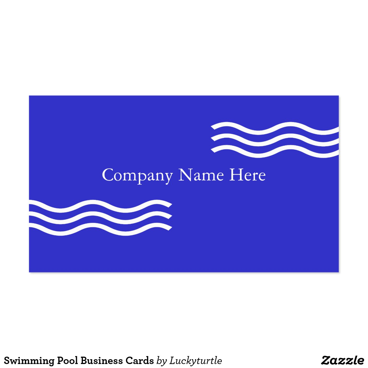 cartes de visite de piscine carte de visite standard zazzle. Black Bedroom Furniture Sets. Home Design Ideas