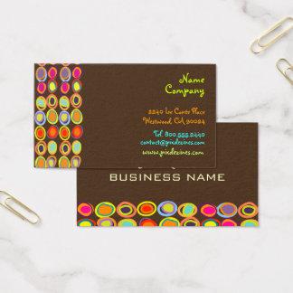 Cartes De Visite De PixDezines rétro Design/DIY couleur des oeufs
