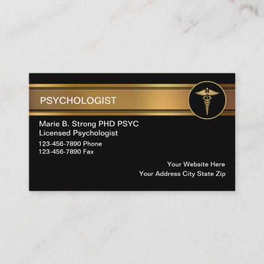 Cartes De Visite Psychologue
