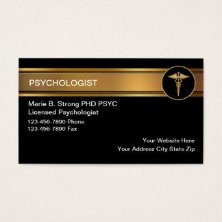 Cartes de visite de psychologue