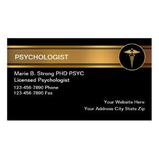 Cartes de visite de psychologue carte de visite standard